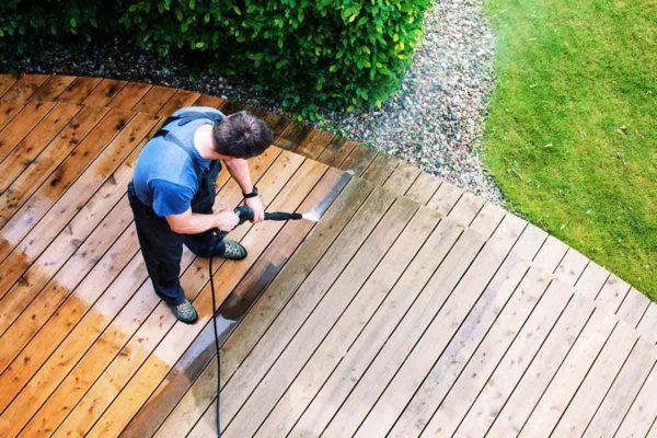 Terrasse-reinigen